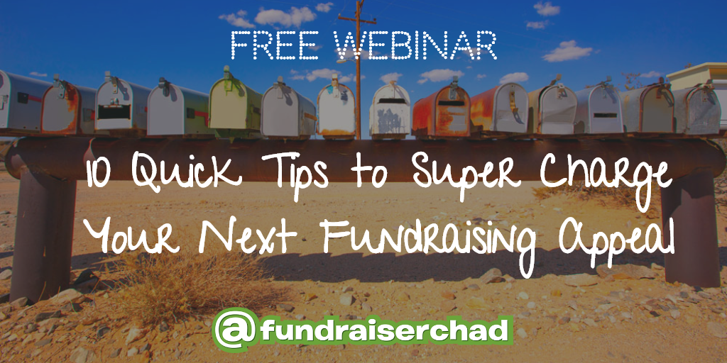 Tips to supercharge you fundraising appeal