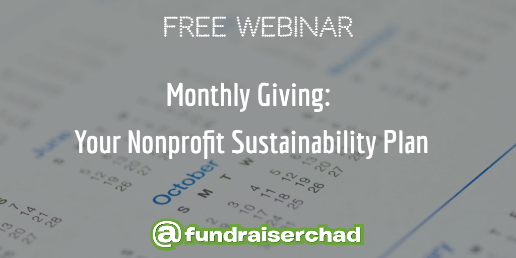 monthly giving webinar