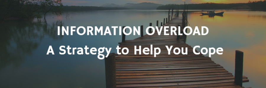 Information Overload:  A Strategy to Help You Cope (Cal Newport)