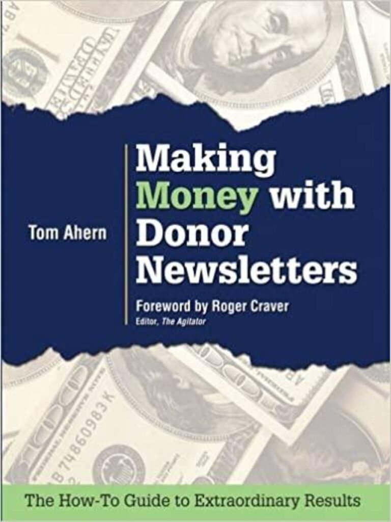 Making Money with Donor Newletters